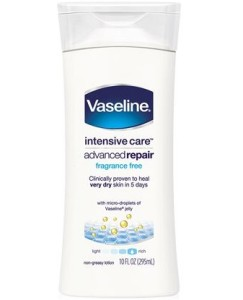 Free Vaseline Intensive Care Lotion Sample