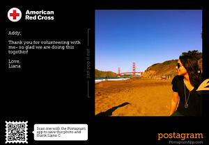 Postgram FREE Personalized Photo Mailed Postagram Postcards