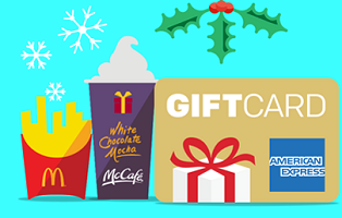 6b5dGift Card Sweepstakes Giveaway  McDonald's Win a Gift Card Sweepstakes