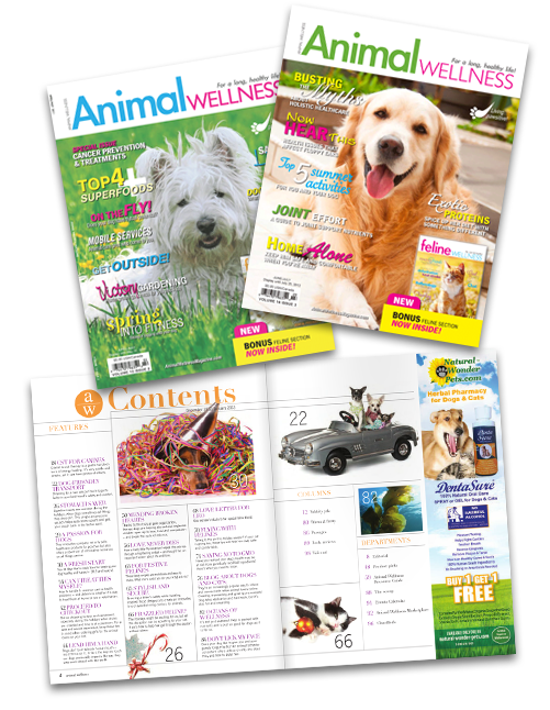Free Magazine Issue of Animal Wellness