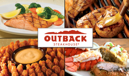 8324OutbackSteakhoue 450x267 Coupon 15% Off Entire Check Outback Steakhouse