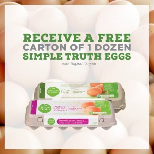8714simple truth eggs Free Simple Truth Eggs at Ralphs thru 12/15
