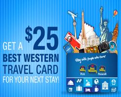 8c68Best Western Travel Card *HOT* FREE $25 Best Western Travel Card
