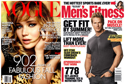 Vogue Mens Fitness Mags FREE Subscriptions to Vogue, Self, ESPN, Mens Fitness and More