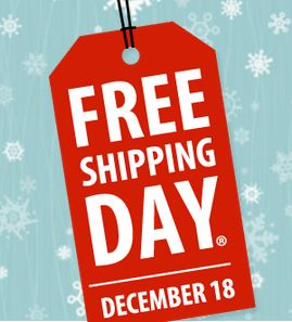 b842shipping day Free Shipping Day 12 18 14
