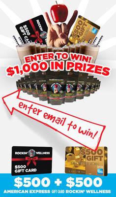 giveaway Rockin Wellness $1000 Sweepstakes